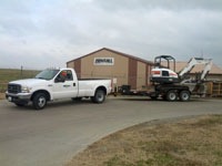 Equipment Delivery in Herrin Illinois, Carterville, Harrisburg IL, Carbondale, and Marion